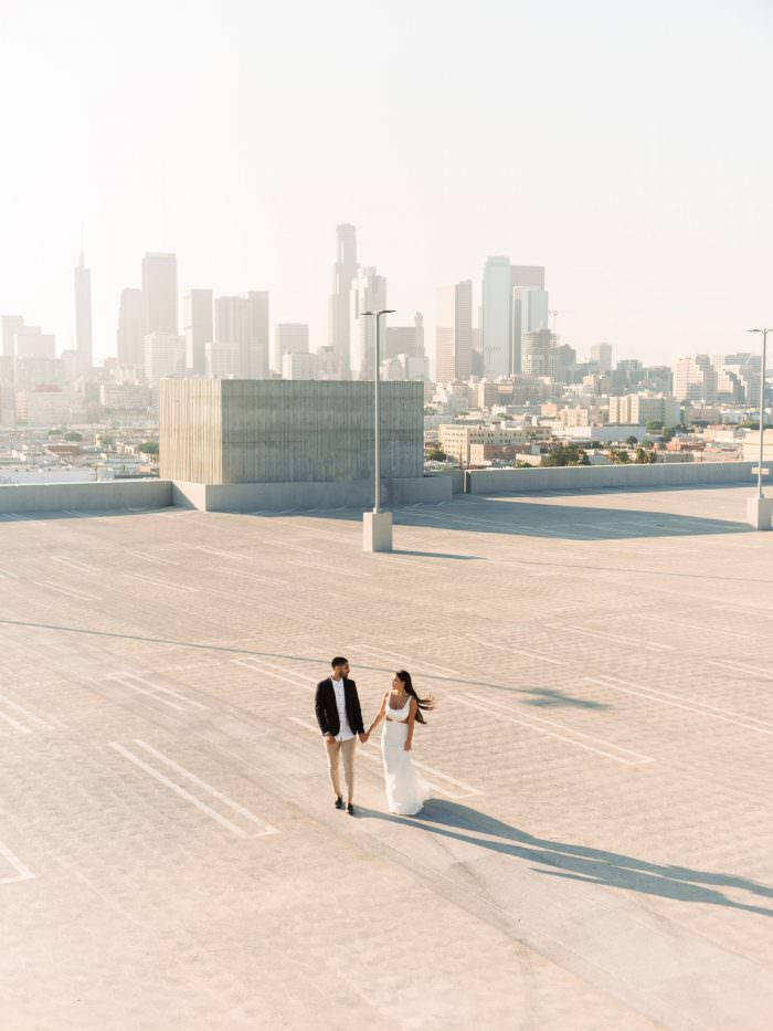downtown los angeles engagement dennis roy coronel fuji gfx 50s pentax 67 pentax 645 wedding photographer