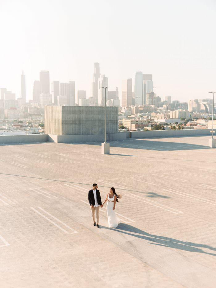 downtown los angeles engagement dennis roy coronel fuji gfx 50s pentax 67 pentax 645 wedding photographer